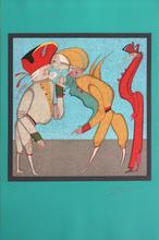 """Mikhail CHEMIAKIN - Print-Multiple - """"Carnival in St.-Petersburg"""