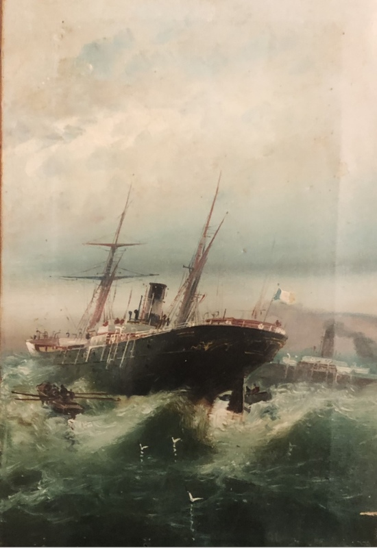 Fernando BLASCO HUESO - Peinture - Barcos en alta mar