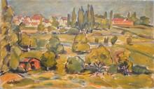 Michel ADLEN - Pittura - Countryside