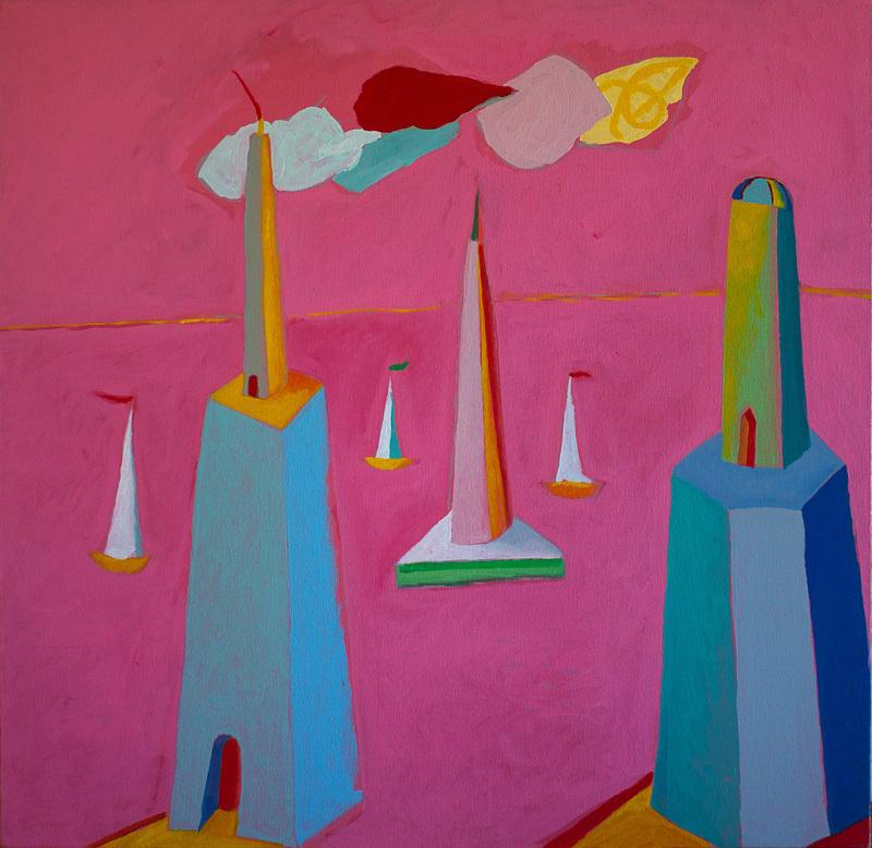Nicola Maria MARTINO - Painting - avevo perso il senso del tempo