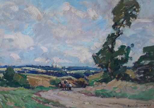 André PRÉVOT-VALERI - Pintura - Paysage breton