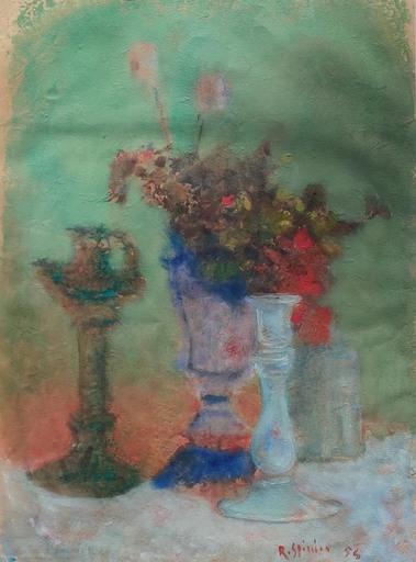 Raffaele SPIZZICO - Drawing-Watercolor - Senza titolo