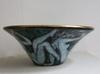 Édouard CAZAUX - Ceramic - Grande coupe en faïence émaillée d'Edouard Cazaux, Art Déco