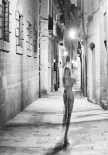 "Dmitry SAVCHENKO - Fotografia - "" Carrer de Sant Sever. Barcelona """