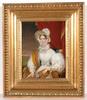 "Johann Nepomuk ENDER - Gemälde - ""Empress Maria Anna of Austria"" important oil painting"