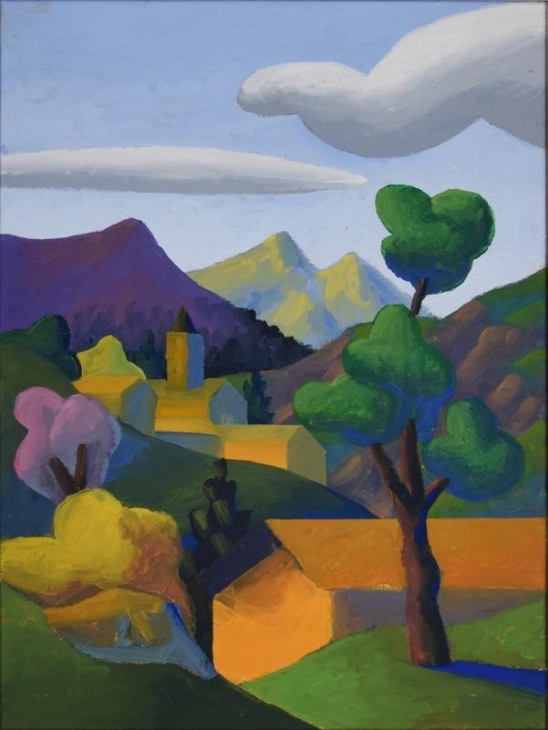 SALVO - Pintura - La valle