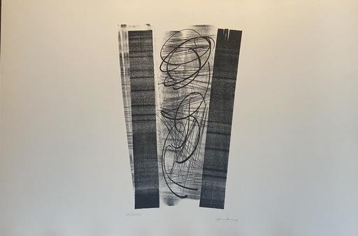 Hans HARTUNG - Stampa-Multiplo - Hans Hartung – Lithographie Farandoles V