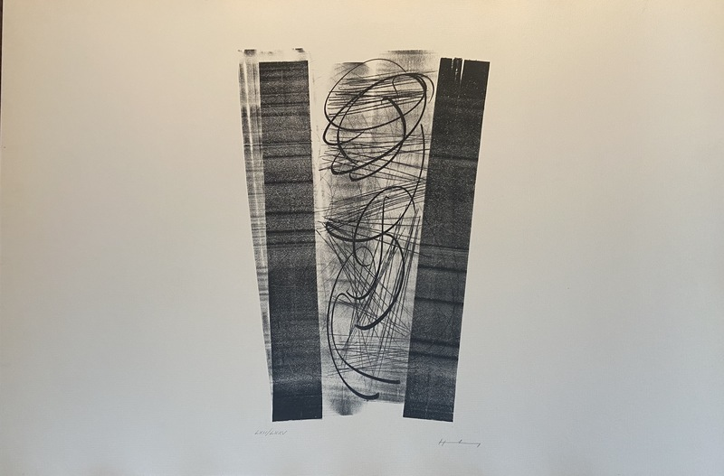 Hans HARTUNG - Estampe-Multiple - Hans Hartung – Lithographie Farandoles V