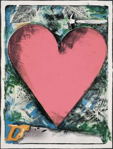 Jim DINE, A HEART AT THE OPERA