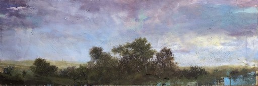 Peter HOFFER - Peinture - Purple Sky