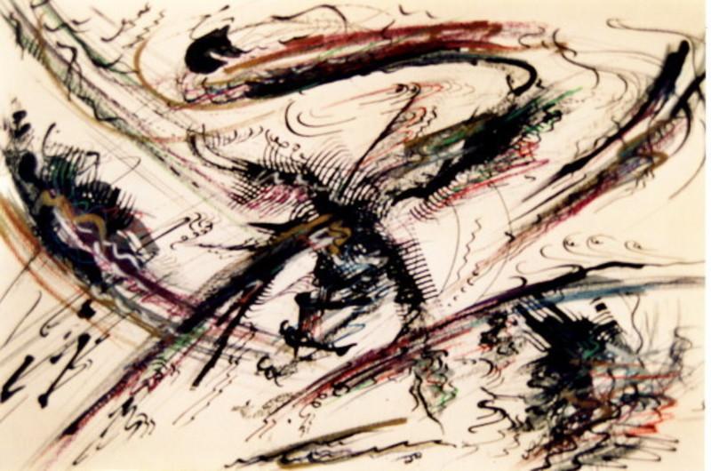 Didier ANGELS - Peinture - rythmes 3