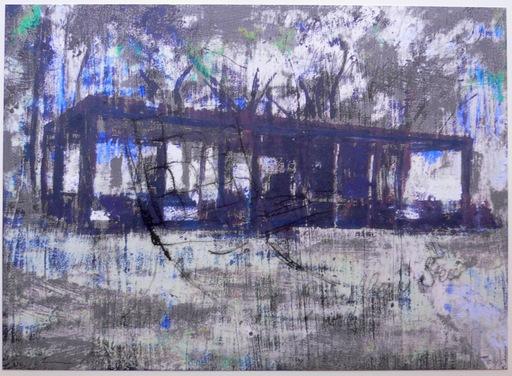 Enoc PEREZ - Grabado - Glass House grey