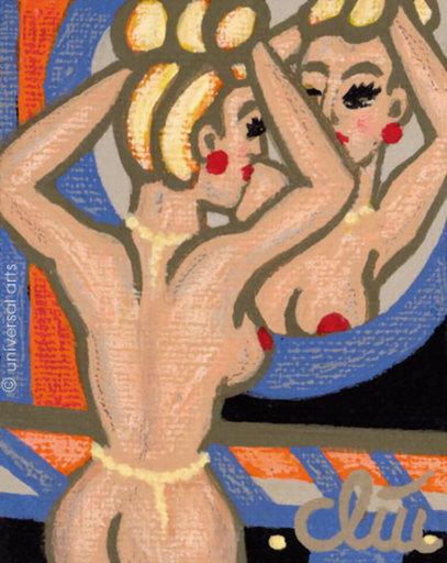 Jacqueline DITT - Peinture - Peroxide Blonde (Wasserstoff Blond)