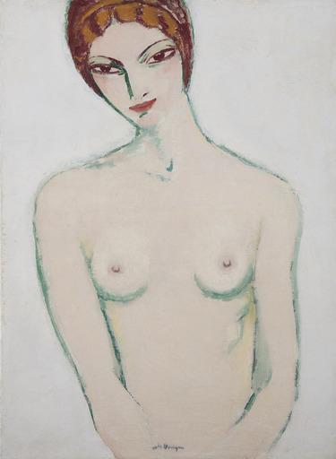 凯斯•凡•东根 - 绘画 - Modèle en buste