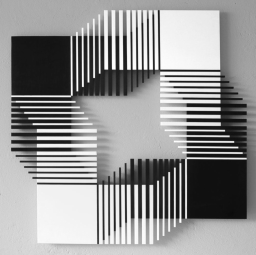 Francisco SOBRINO - Sculpture-Volume - Relation NB 4