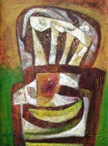 Raul ENMANUEL - Pintura - Butaca
