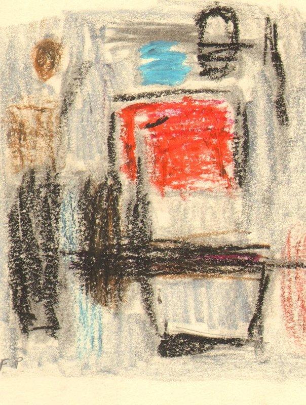 Felicia PACANOWSKA - Disegno Acquarello - Abstrakte Komposition