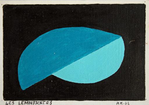 Maurice MALLET - Painting - LES LEMNISCATES