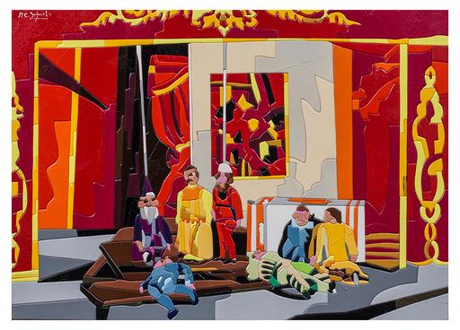Ugo NESPOLO - Gemälde - Puppets