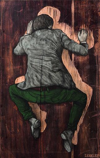 LEVALET - Pittura - Chercher son ombre