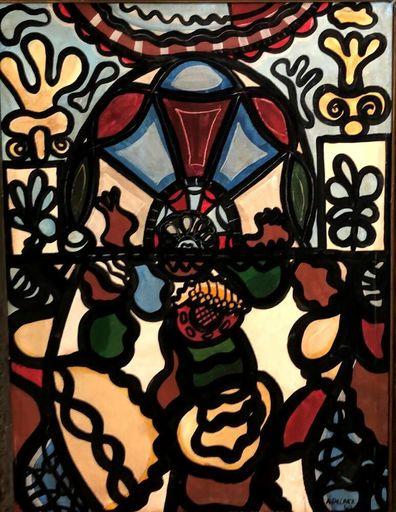Amelia PELAEZ - Painting - Composition