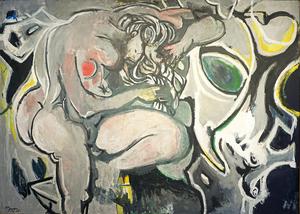 Édouard PIGNON - Pittura - Le Nu gris
