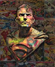 Hans DIRTY - Print-Multiple - Superman