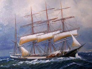 Alfred JENSEN - Pintura - marine