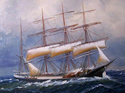 Alfred JENSEN - Painting - marine