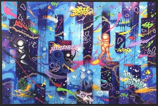 PSYCHOZE - Gemälde - In Situ