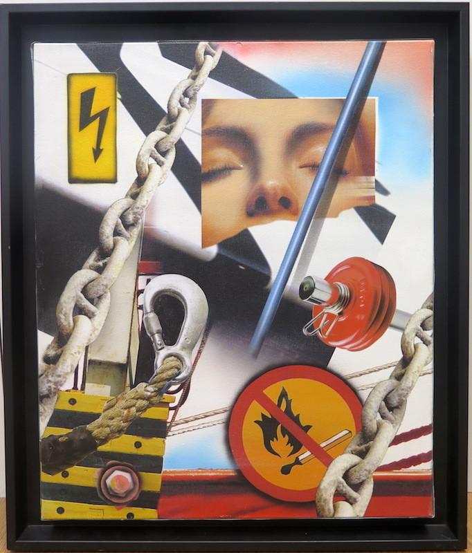 Peter KLASEN - Painting - White Dream