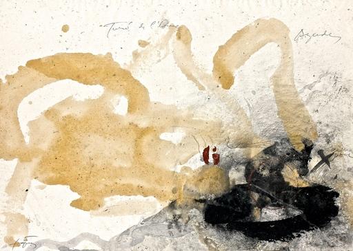 Antoni TAPIES - Painting - Montseny(cims)