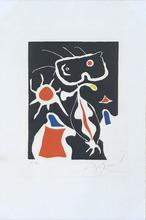 Joan MIRO - Print-Multiple - Hommage à San  Lazzaro planche 3
