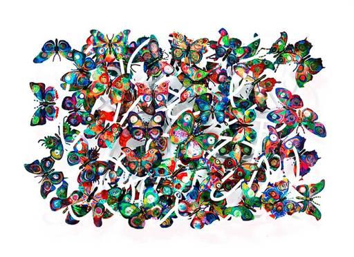 David GERSTEIN - Sculpture-Volume - Magic Cloud