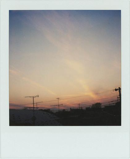 Nobuyoshi ARAKI - Photography - Polaroid skyscape