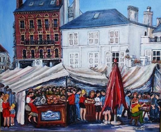Jean-Claude LELIEVRE - Peinture - journée du patrimoine à pontoise
