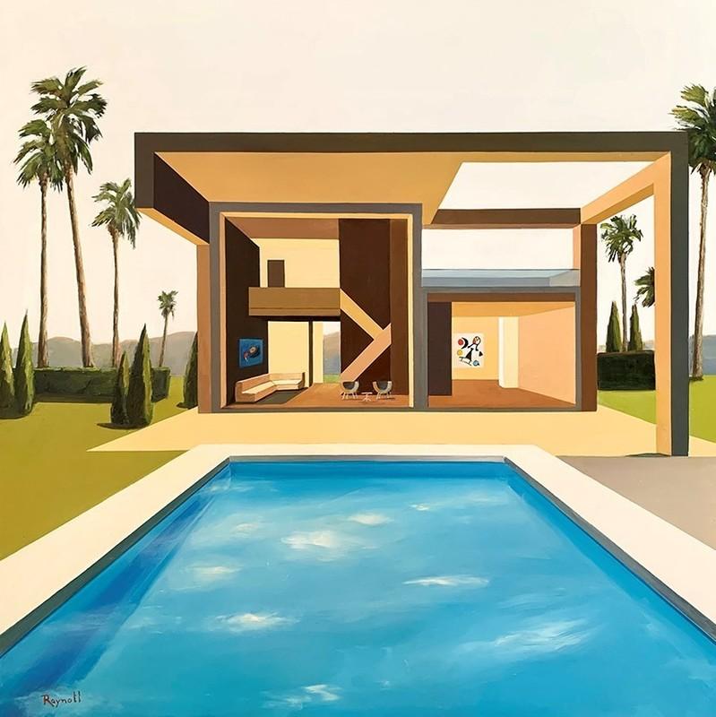 Daniel RAYNOTT - Painting - Lumières de Californie