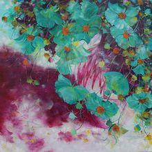 Nadine PILLON - Painting - Les Nostalgiques