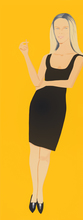 Alex KATZ (1927) - Black Dress (Yvonne)