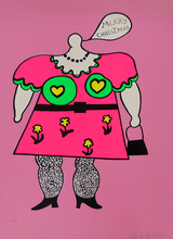 Niki DE SAINT-PHALLE - Estampe-Multiple - Merry Christmas