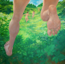 Hiromi SENGOKU - Pittura - Tomorrow we are going to run for further, and the day after,