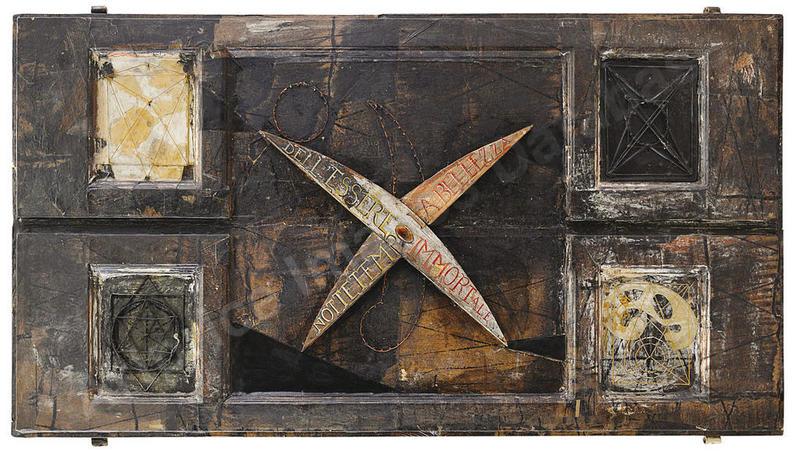 Bruno CECCOBELLI - Painting - Notti del Caos