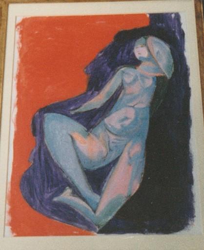 Sandro CHIA - Painting - Figura di donna