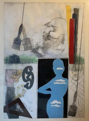 Tano FESTA - Peinture - La moglie dell'ingegnere