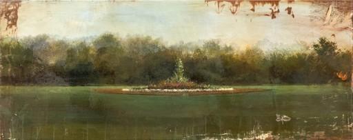Peter HOFFER - Peinture - Parc