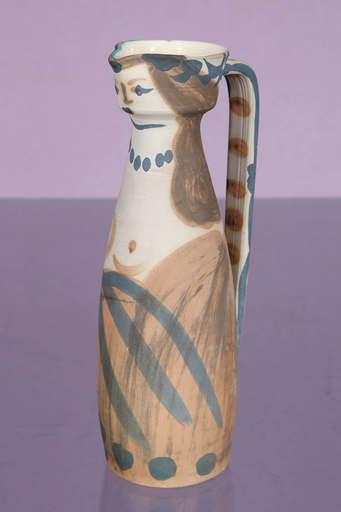 巴勃罗•毕加索 - 陶瓷  - Femme (A.R. 300)