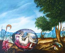 """Carlos SABLÓN - Gemälde - De la serie """"les créatores d'adamu"""""""