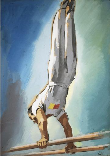 Giacinto MONDAINI - Pintura - Parallele