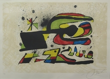 Joan MIRO - Stampa Multiplo - Gos i Ocell