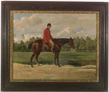 "Wilhelm RICHTER - Drawing-Watercolor - ""Horseman"" by Wilhelm Richter"